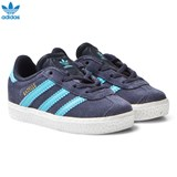 adidas Originals Midnight Grey Infants Gazelle Trainers