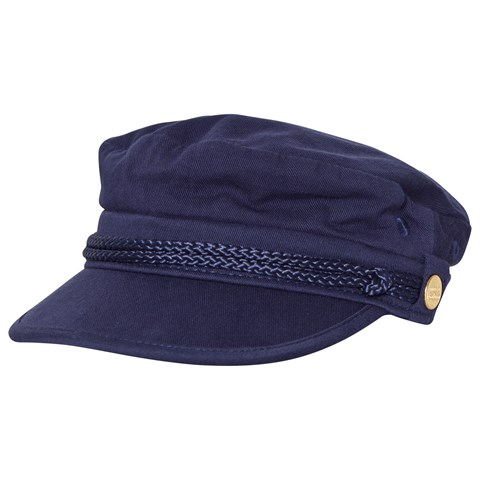 Mini Rodini Navy Skipper Hat