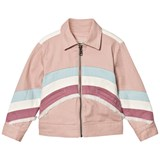Stella McCartney Kids Pink Jacket with Unicorn Back