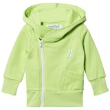 Gugguu Lime Green and White College Hoodie