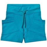 Gugguu Turquoise Blue College Shorts