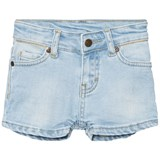 eBBe Kids Light Blue Denim Stretch Benita Denim Shorts