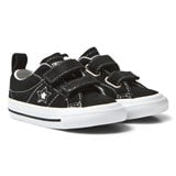 Converse Black One Star Infants Velcro Trainers