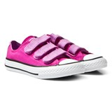 Converse Magenta Glow Chuck Taylor All Star Junior Velcro Trainers
