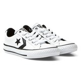 Converse White Star Player EV Junior Trainers