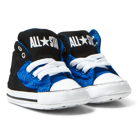 Converse Blue Black Chuck Taylor All Star First Star High Street Hi ... 30e0944cd52