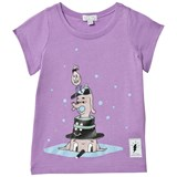 Civiliants Lilac Hat Dogs Top