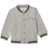 Civiliants Grey Melange Baseball Jacket