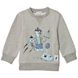Civiliants Grey Melange Blue Duck Sweater
