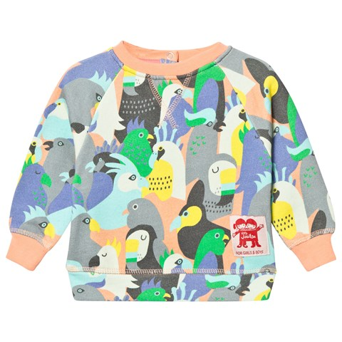Tootsa MacGinty Birds of a Feather Print Sweatshirt