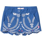 Billieblush Blue Broderie Anglaise Scallop Edge Shorts