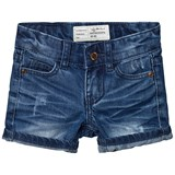 I Dig Denim Dark Blue Denton Shorts