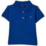 Gant Bright Blue Pique Polo