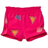 Little Marc Jacobs Pink Branded Jersey Shorts