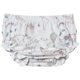 Livly Pink World Map Ruffled Bloomers
