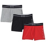 BOSS Black, Red and Grey Branded Trunks