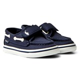 Ralph Lauren Navy Batten Velcro Boat Shoes
