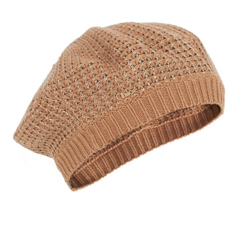 Chloé Biscuit Knitted Beret