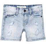 I Dig Denim Light Blue Denton Shorts