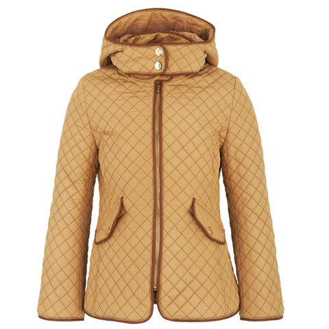 Chloé Biscuit Quilt Hooded Jacket