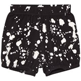NUNUNU Black Splash Yoga Shorts