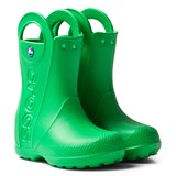 Crocs Kids Grass Green Handle It Rain Boots