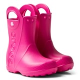 Crocs Kids Candy Pink Handle It Rain Boots