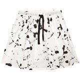 NUNUNU White Voile Splash Skirt