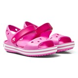 Crocs Kids Candy Pink/Party Pink Crocband Sandals
