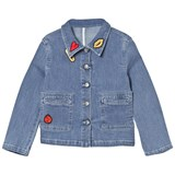 Sonia Rykiel Blue Patch Denim Jacket