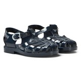 Armani Junior Navy Branded Jelly Shoes