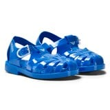 Armani Junior Blue Branded Jellys