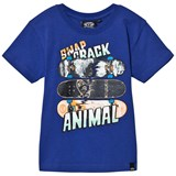 Animal Blue Snapp Skateboard Graphic Tee