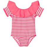 Billieblush Fuchsia Frill Collar Swimsuit