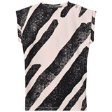 Koolabah Pink/Black Black Lines XL Dress