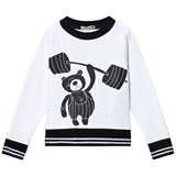 Koolabah Black/White Sporty Bear Sweater