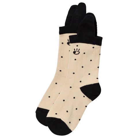 Beige Animal Socks