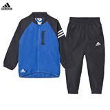 adidas Blue and Black Messi Tracksuit