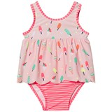 Gap Pink Cameo Scallop Swimsuit