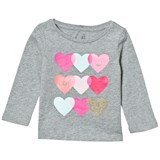 Gap Hearts Embellished Graphic Tee