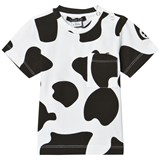 Little LuWi Cow Print T-Shirt With Pocket