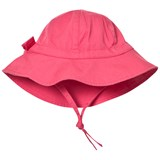 Petit Bateau Pink Sun Hat with Bow