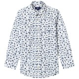 Gant White Flag Print Shirt