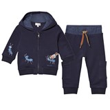 Paul Smith Junior Navy Branded Tracksuit