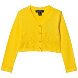 Lands' End Yellow Sophie Cardigan