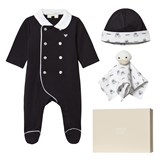 Armani Junior 3 Piece Babygrow, Hat and Comforter Set