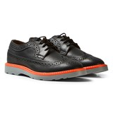Paul Smith Junior Black Leather Brogues