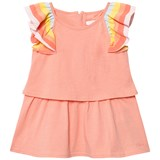 Chloé Pink Dress with Rainbow Frill Sleeves