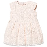 Hucklebones Pink Broderie Anglaise Bow Detail Dress