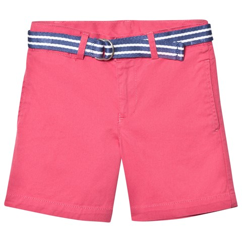 Coral Classic Chino Shorts with Belt